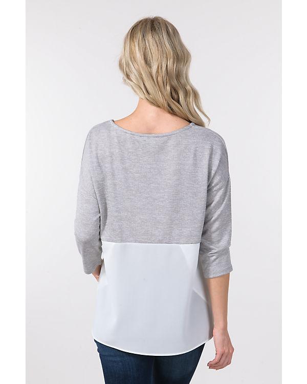 LINEA grau IN Pullover IN LINEA weiß qz6Ewx