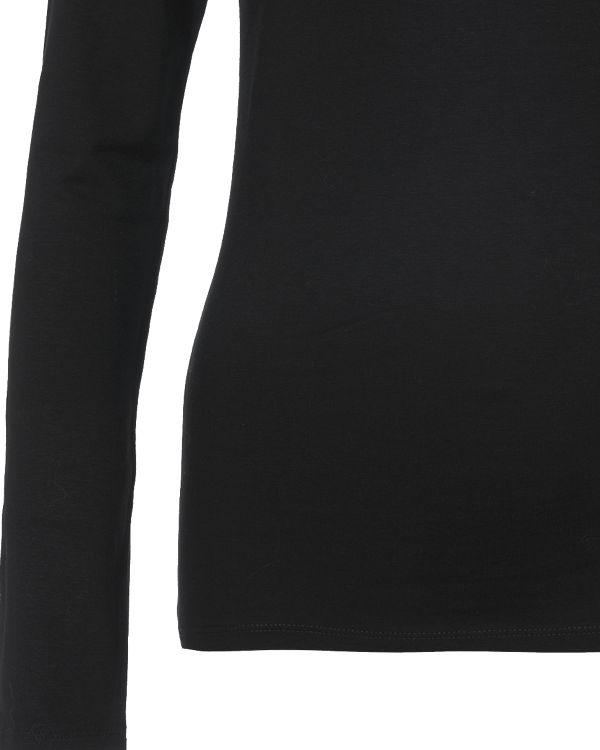 VILA Rollkragenpullover schwarz