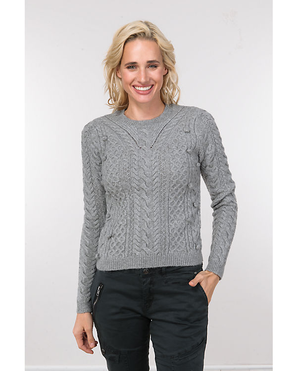 REVIEW Pullover grau