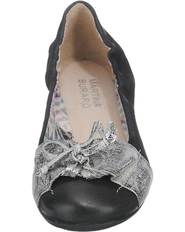 Martina  Buraro, Martina Buraro Chantal-Chantilly  Martina Ballerinas, schwarz eb6d69