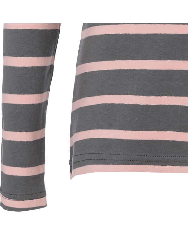 TOM TAILOR Langarmshirt rosa/grau