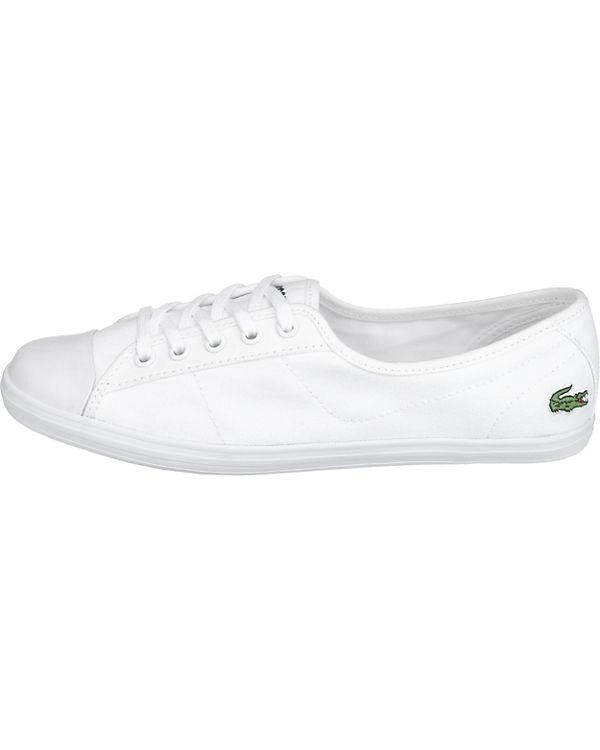 LACOSTE, LACOSTE Ziane Bl 2 Spw                         Sneakers, weiß 38b986