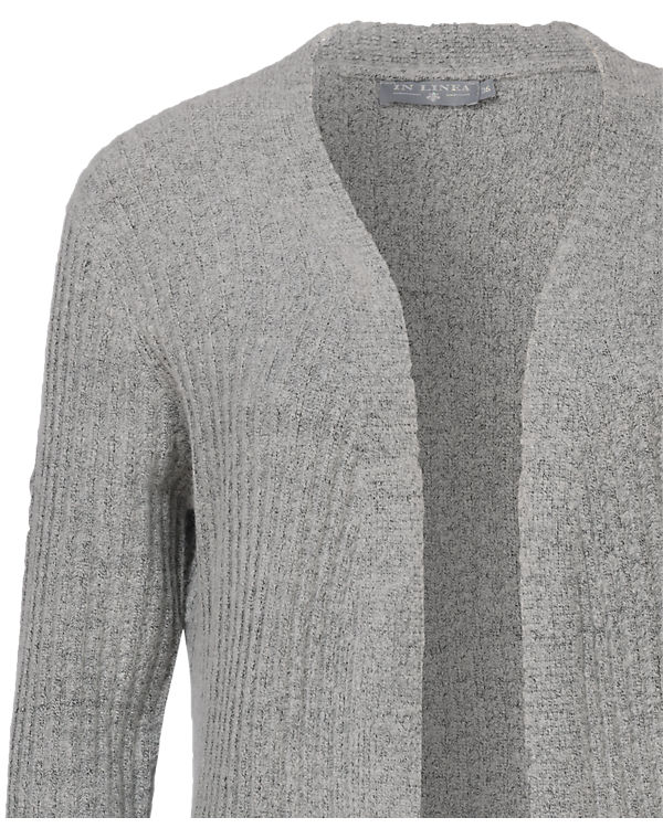 Strickjacke LINEA IN grau LINEA Strickjacke IN xwOwa