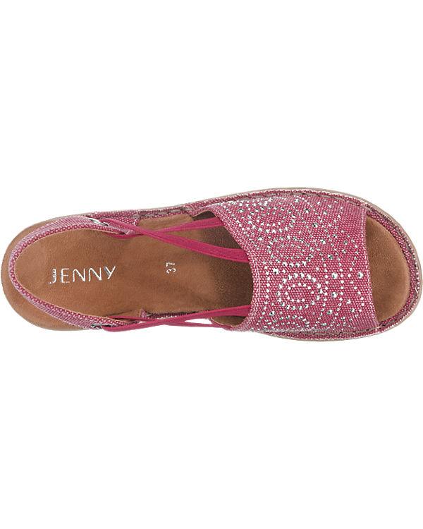 Sandaletten JENNY JENNY JENNY Korsika rot JENNY a1x1IEwq0