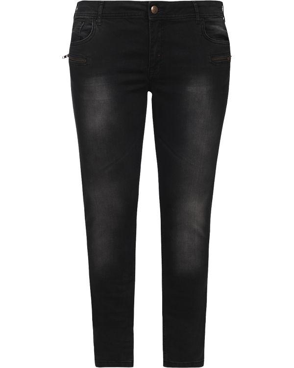 Jeans Slim Sanna Zizzi Jeans schwarz Zizzi EqYZE0wP