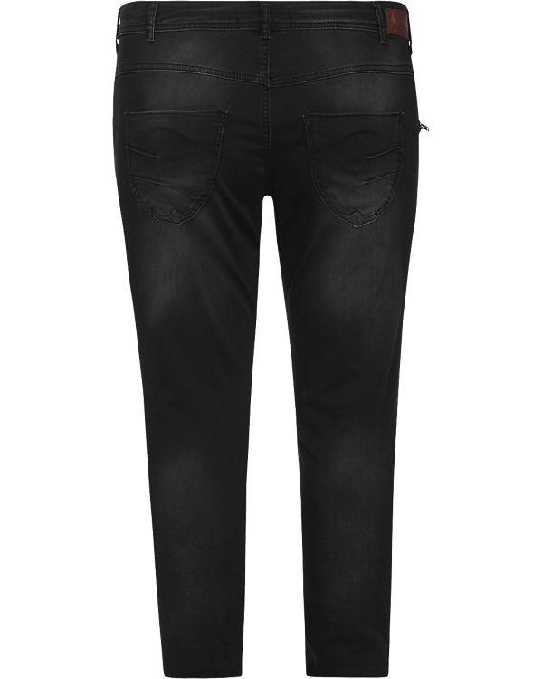 Zizzi Sanna Slim Zizzi Jeans schwarz Jeans 7qxB8