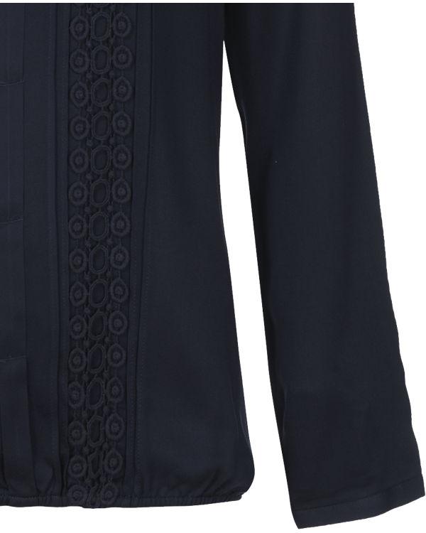Comma Casual Identity Bluse dunkelblau Freies Verschiffen Zahlung Mit Visa Billig Zuverlässig Zum Verkauf Offizieller Seite Billig Verkauf Neueste Billig Verkaufen Pick Eine Beste nitXh