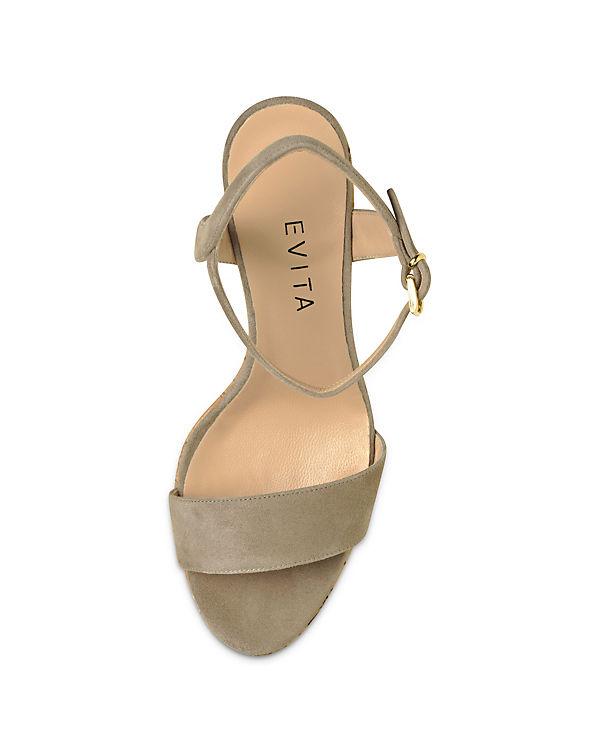 Evita Shoes Evita Evita Shoes beige Sandaletten Shoes wvPqP51