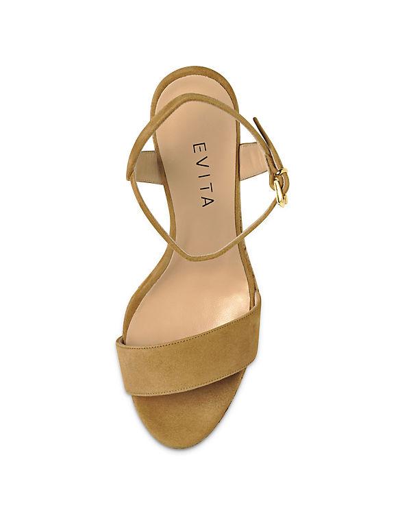 Shoes Evita Shoes Sandaletten Shoes Evita Evita Shoes cognac Evita IwWTOROfnq