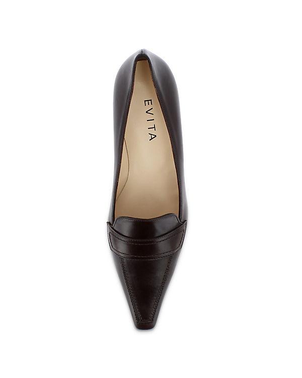 Evita Shoes, Shoes, Evita Evita Shoes Pumps, braun 011d7b