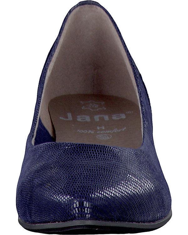 Jana Jana Pumps blau