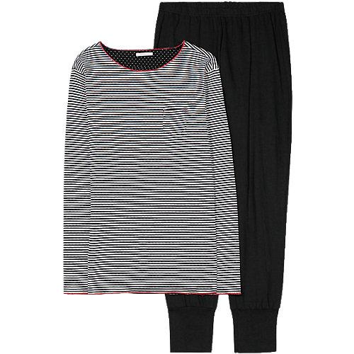 ESPRIT BODYWEAR Schlafanzug Danella schwarz Damen Gr. 40