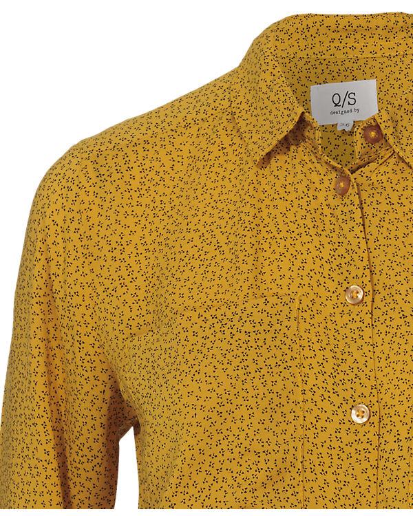 gelb gelb Bluse Q gelb S Q Q S Bluse Bluse S 11q7aRwT