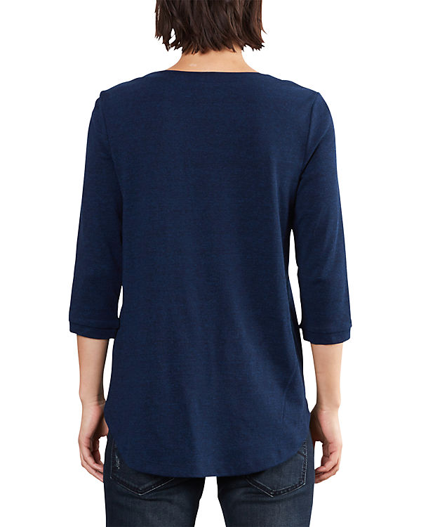 Q/S 3/4-Arm-Shirt dunkelblau