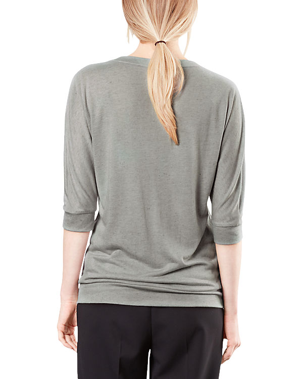 Q/S 3/4-Arm-Shirt grau