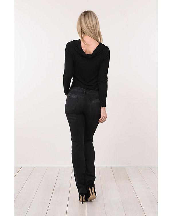 Mavi schwarz Olivia Jeans Straight Mavi Jeans 0YaqRw