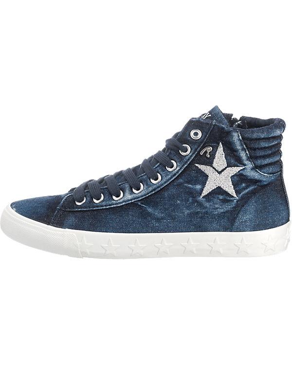 REPLAY, REPLAY Wetley Sneakers, blau blau blau 635471