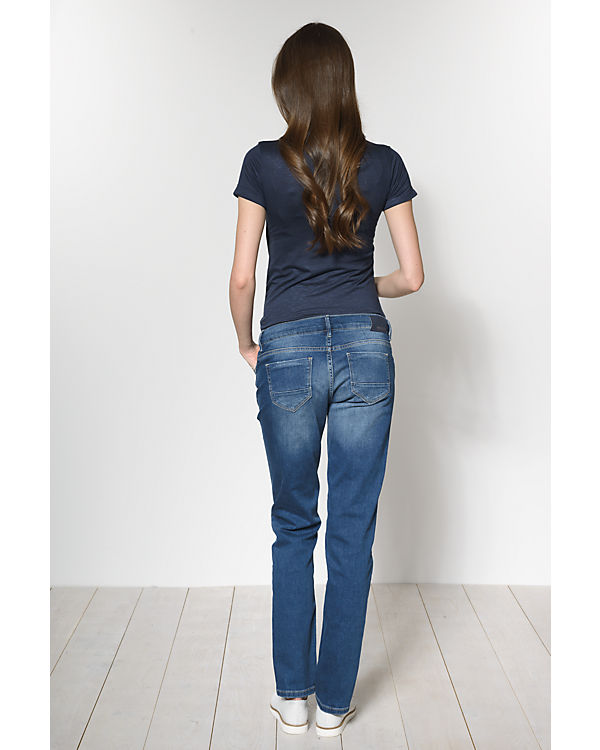 noppies Umstandsjeans Fenne regular blau