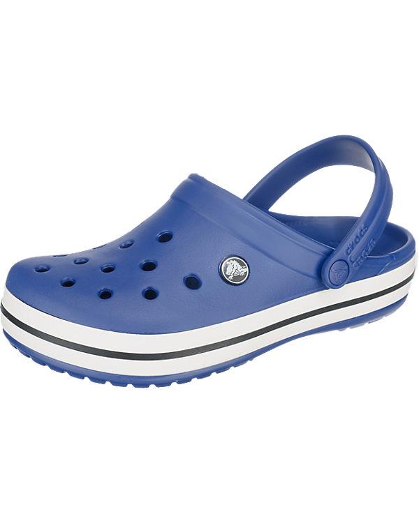 crocs Crocband Clogs blau/wei