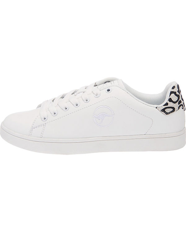 KangaROOS K weiß Ten Low Sneakers 161Tqw