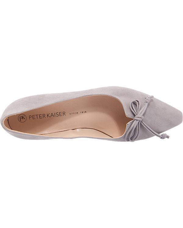 PETER KAISER PETER KAISER Lizzy Ballerinas grau