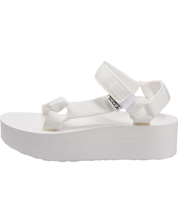 Teva Sandalen Universal Teva W Flatform weiß HZHfqF1