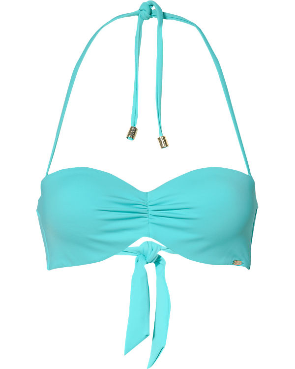 Skiny Bandeau Bikini Oberteil Ocean Love blau
