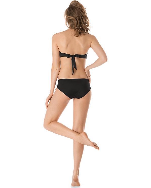 Skiny Bandeau Bikini Oberteil Ocean Love schwarz
