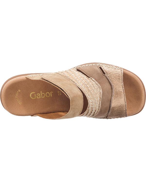 Gabor Gabor Pantoletten beige