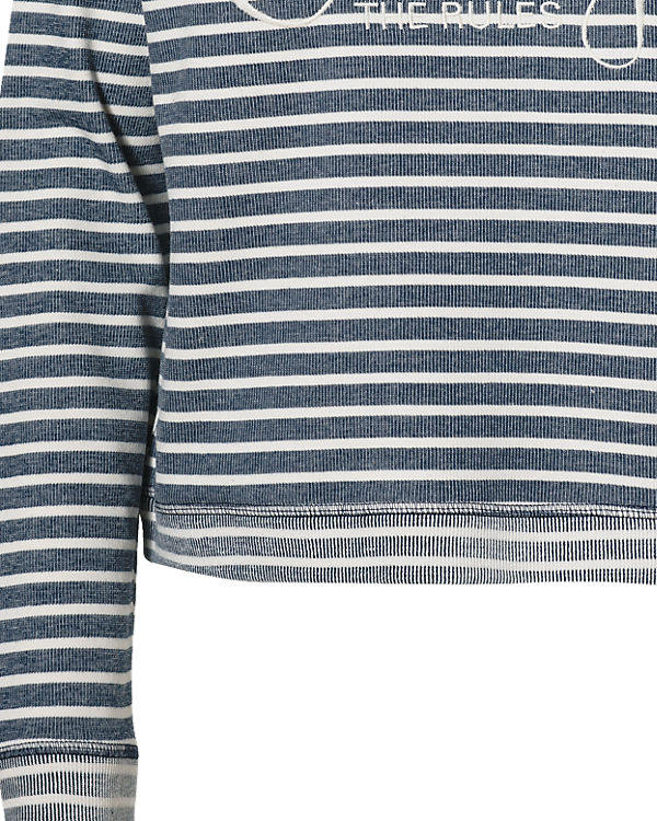 s.Oliver Sweatshirt blau-kombi