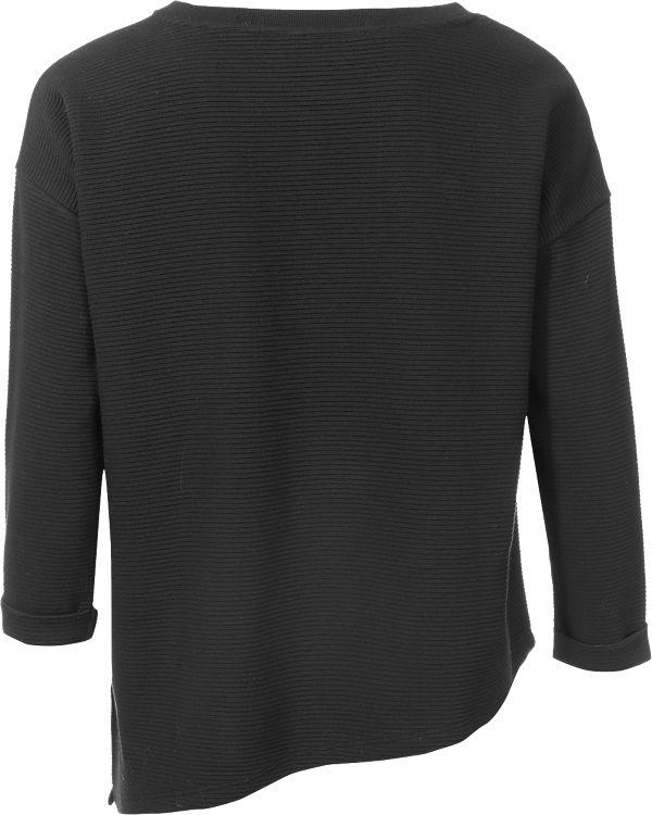 Q/S 3/4-Arm-Shirt schwarz
