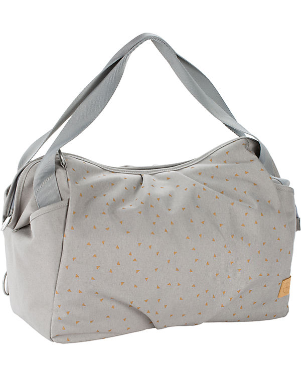 Wickeltasche Bag hellgrau Grey Triangle Light Twin Zwillings Casual L盲ssig 5WT68qZHI