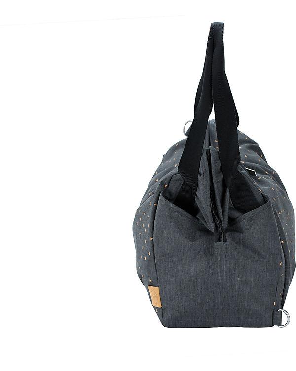 Dark Zwillings Twin Triangle Casual Bag Wickeltasche L盲ssig Grey dunkelgrau pPqwYOSWY