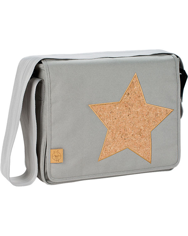 L盲ssig Star Wickeltasche Grey Cork Light Casual Bag hellgrau Messenger wXXOnqr4