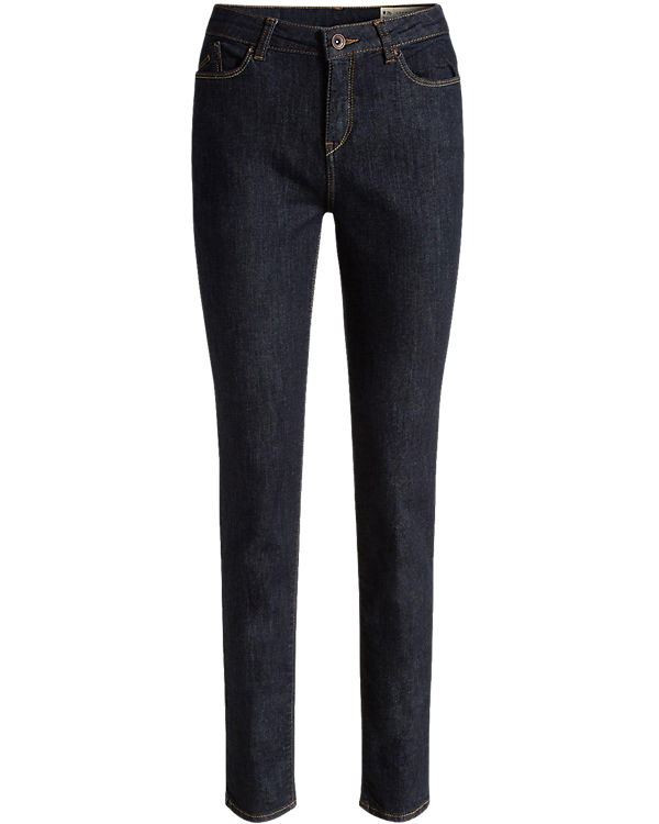 ESPRIT Jeans Slim High Rise dark blue denim