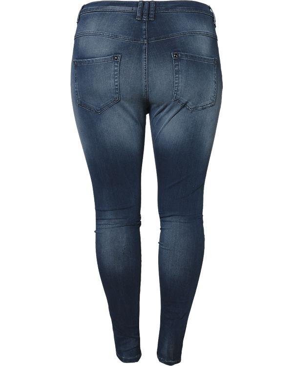 Slim Zizzi Super Amy Jeans blau qnw10SA6