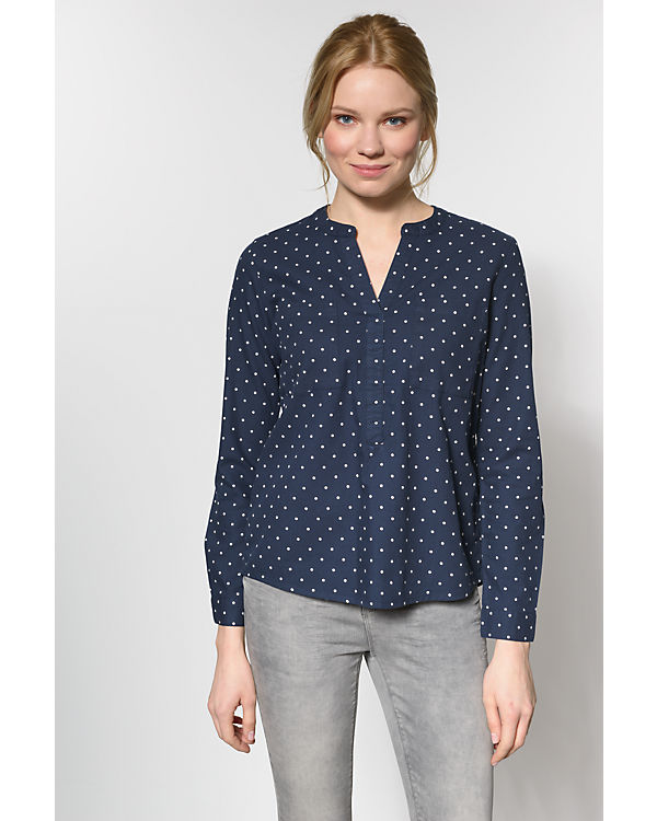 Denim TOM TAILOR Bluse blau TAILOR TOM Ft7Utq