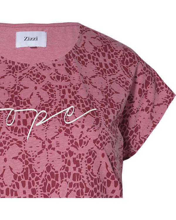 Zizzi T-Shirt rosa