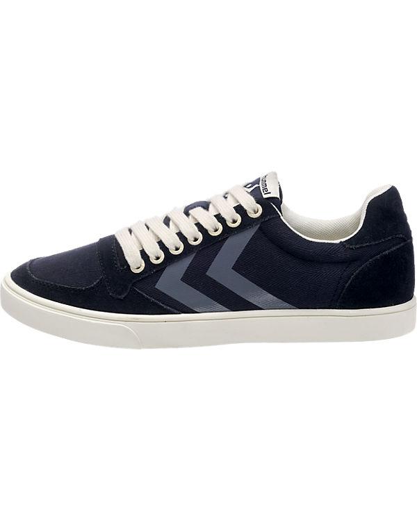 hummel Sneakers dunkelblau Stadil Herringbone low hummel Slimmer UxPnSdd