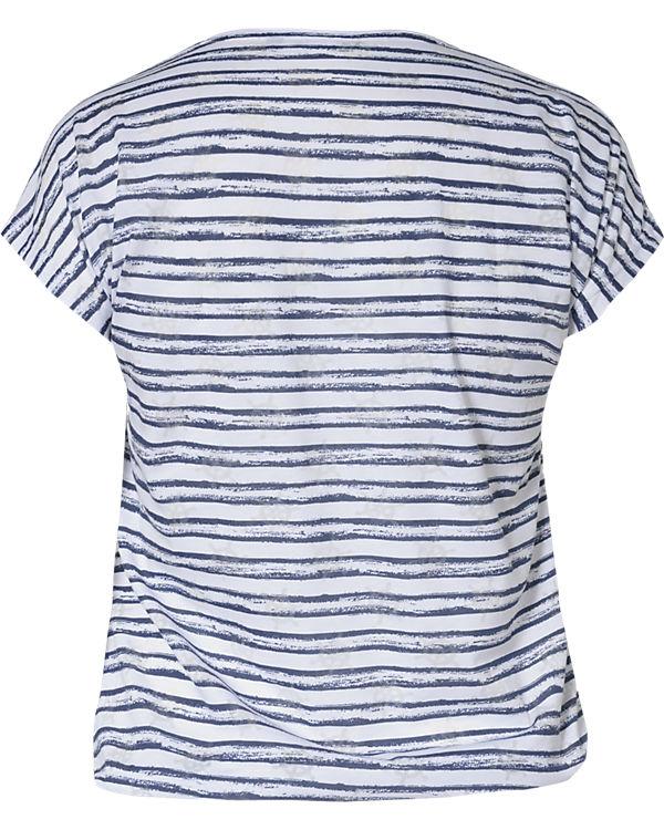 SEVEN blau T BLUE Shirt weiß dtqxZ8w