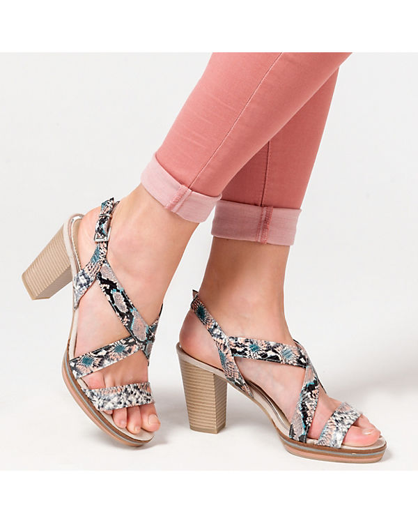TOZZI TOZZI mehrfarbig MARCO MARCO Sandaletten Paduli FEW1Fn4f