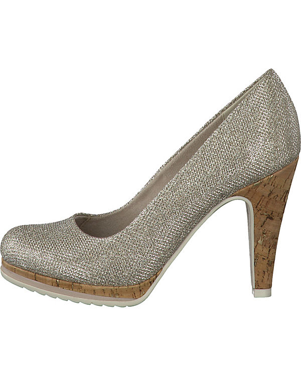 MARCO TOZZI Pumps silber MARCO Taggia TOZZI rrfd7q