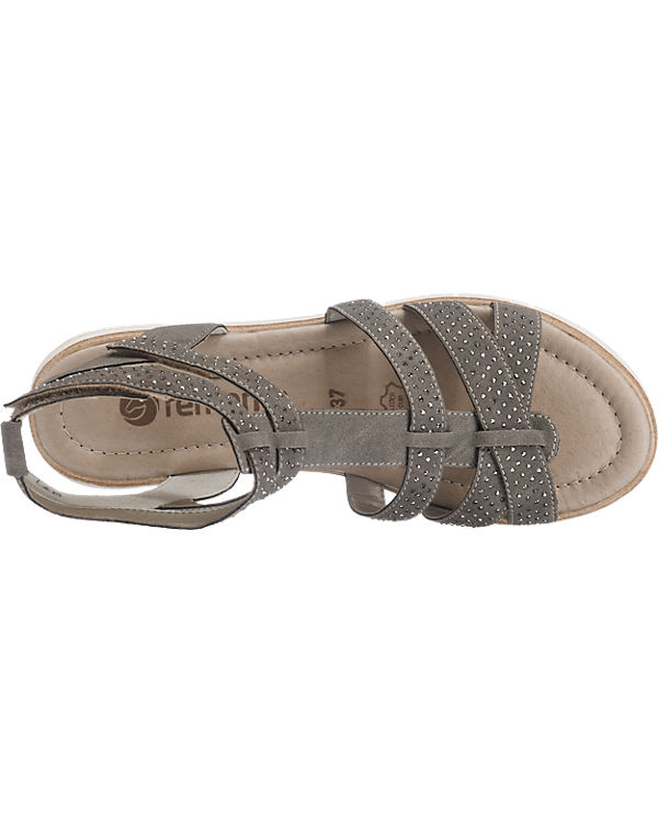 Sandaletten remonte grau remonte remonte remonte w1nf0BTqn