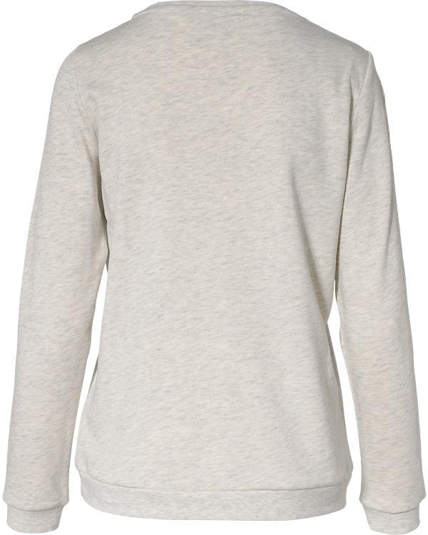 ESPRIT Sweatshirt hellgrau