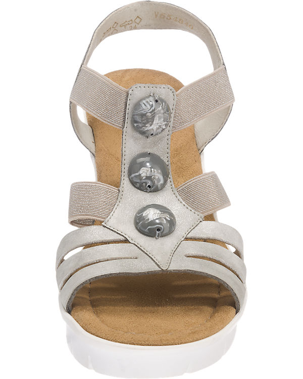 rieker rieker Sandaletten grau