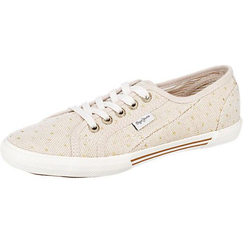 Pepe Jeans Aberlady Spots Sneakers beige-kombi ...