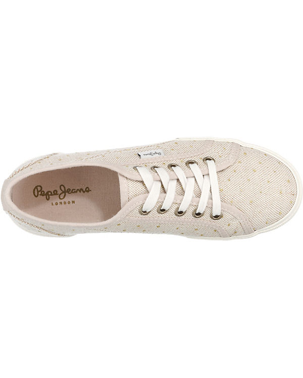 Pepe Jeans Pepe Jeans Aberlady Spots Sneakers beige-kombi