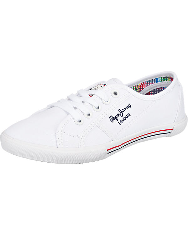 Pepe Low weiß Pepe Jeans Jeans Sneakers qUqOr8