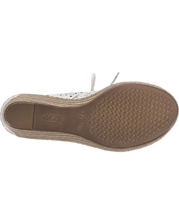 rieker weiß rieker Sandaletten rieker rieker Sandaletten weiß rieker z5nxZ0xqS