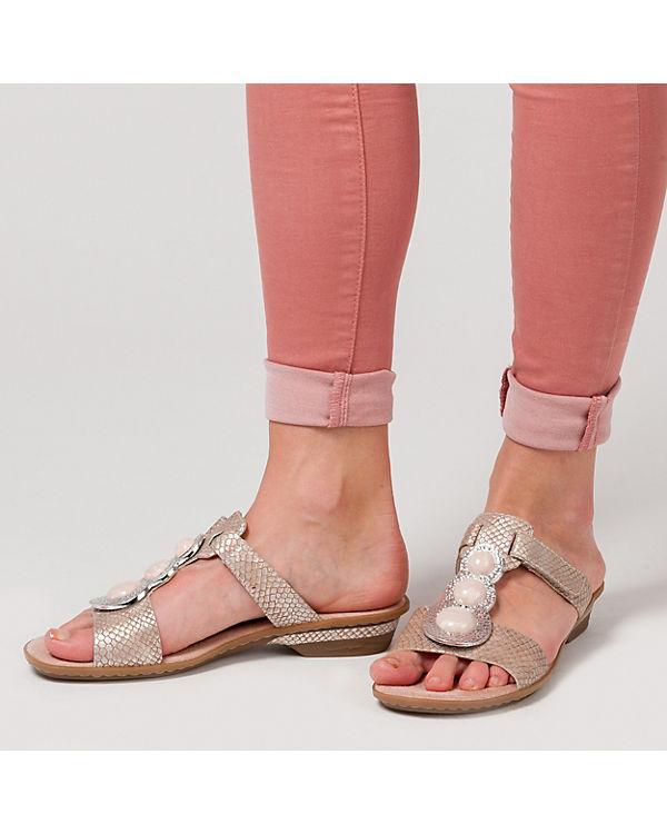 Katoomba Katoomba Komfort Katoomba Pantoletten rieker rieker Komfort Pantoletten rieker Komfort metallicblau metallicblau HUqwEq7xB